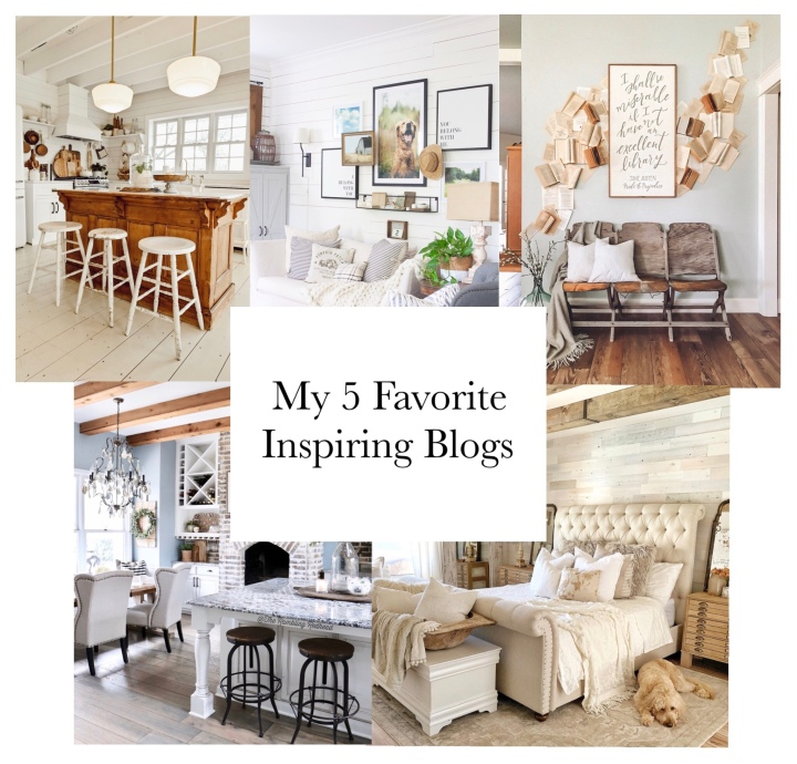 My 5 Favorite InspiringBlogs