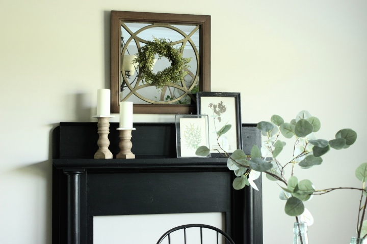 Mantel Makeover with Fusion MineralPaint